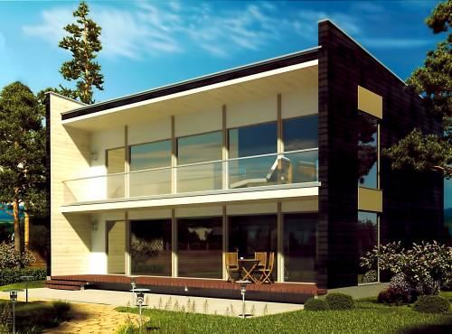 Проект дома из СИП панелей СИТИ