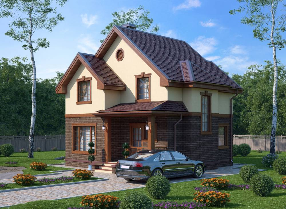 Проект дома из СИП панелей ДЕМО