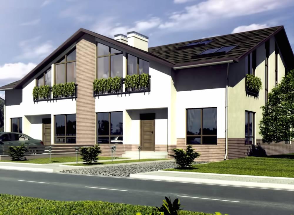 Проект СИП дома КАЛИПСО (таун хаус)
