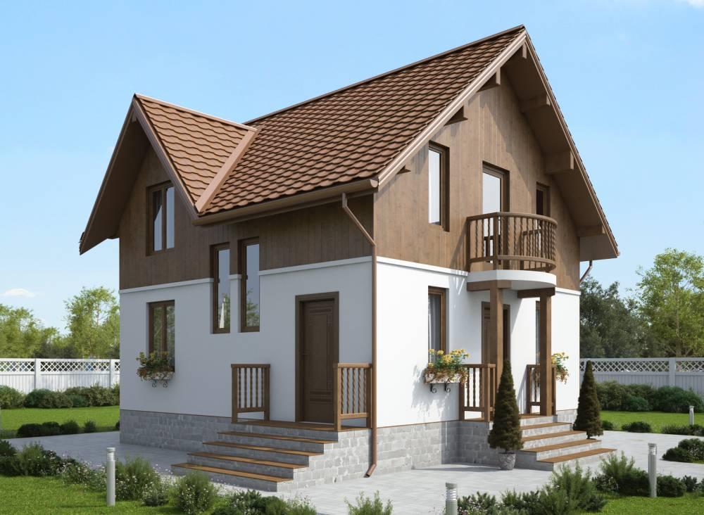 Проект дома из СИП панелей САУНД