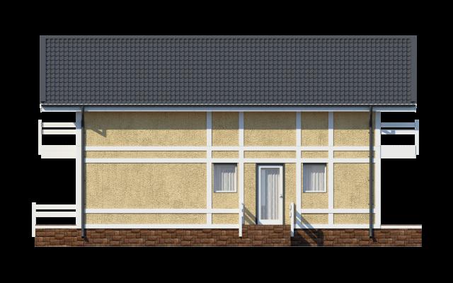 Проект дома из СИП панелей БАРОН